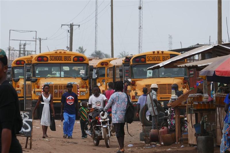 Liberia and finally english!