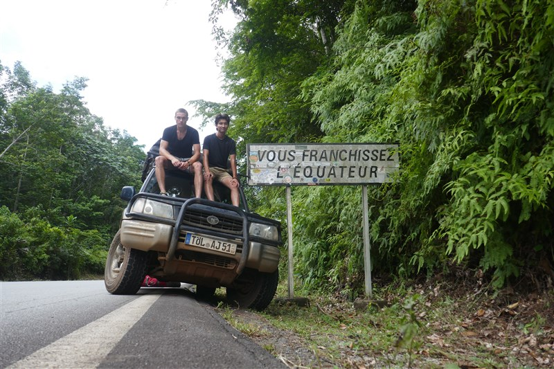 Equator crossing