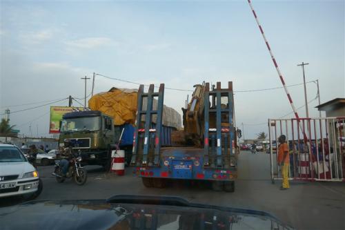 Arriving in Togo
