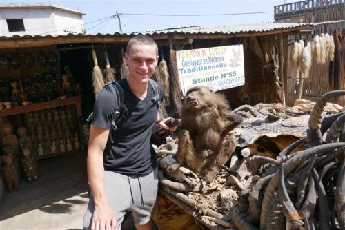 Vodoo market in Togo