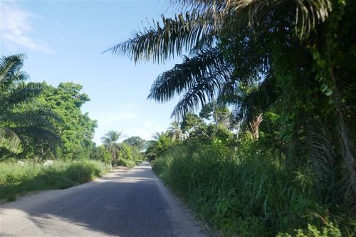 Driving to Cabinda