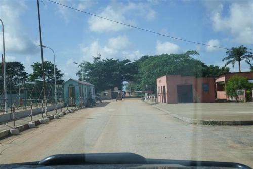Cabinda - DRC border