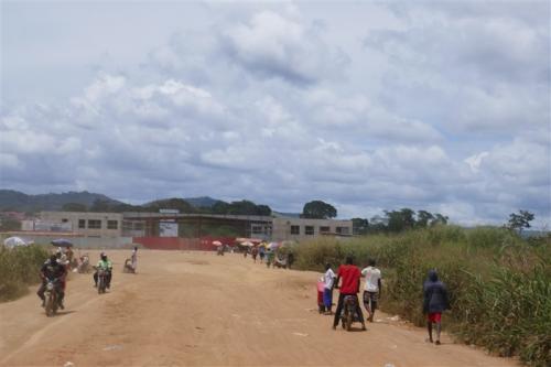 Border to Angola